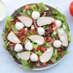 salade-met-gerookte-kip-en-spekjes-1